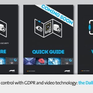 Dallmeier information pack for GDPR compliant security technology