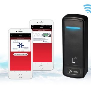 Smartphone credentialing released for Vicon's VAX Access Control system