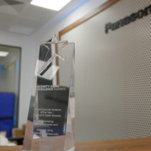 Panasonic cyber security platform scoops IFSEC excellence award