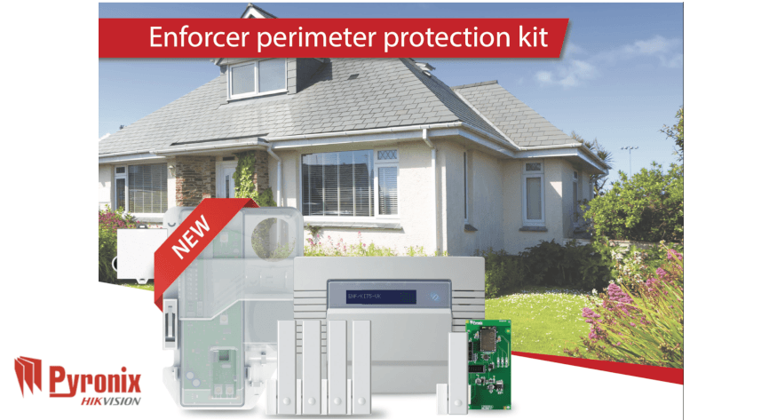 Pyronix launches the Enforcer all-in-one Perimeter Protection Kit
