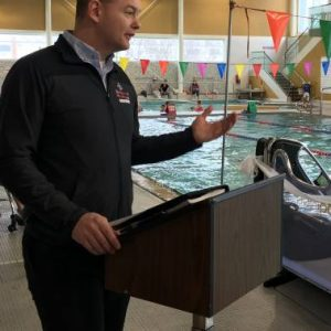 New pool pod to improve accessibility at Peterborough Sport and Wellness Centre