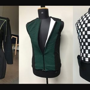 Haptic-feedback Clothing Designed to Guide the Persons with Disabilities