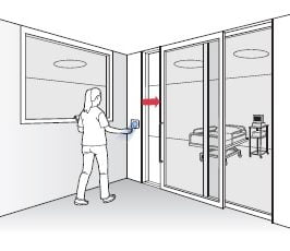 Touchless Entry Door Systems