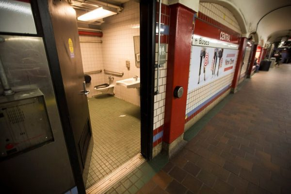 Sensor taps and no door handles: Covid-19 shows it's time to rethink public toilets