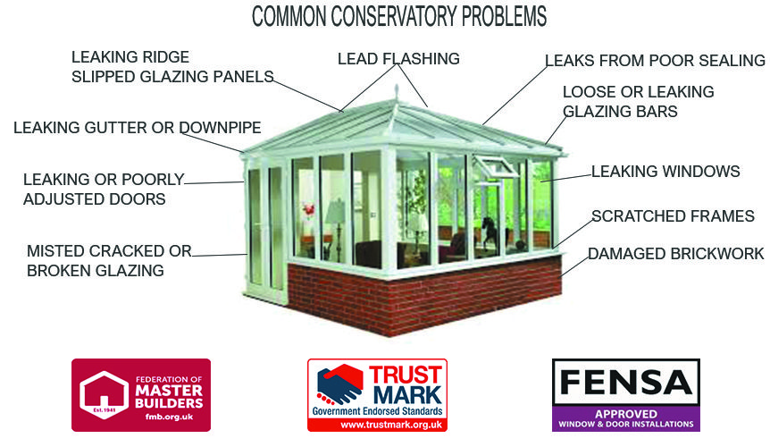 CONSERVATORY REPAIRS IN CORNWALL