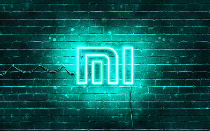 Xiaomi Logo Wallpaper 4k