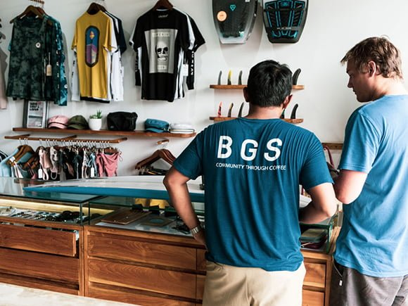 bgs canggu surf shop