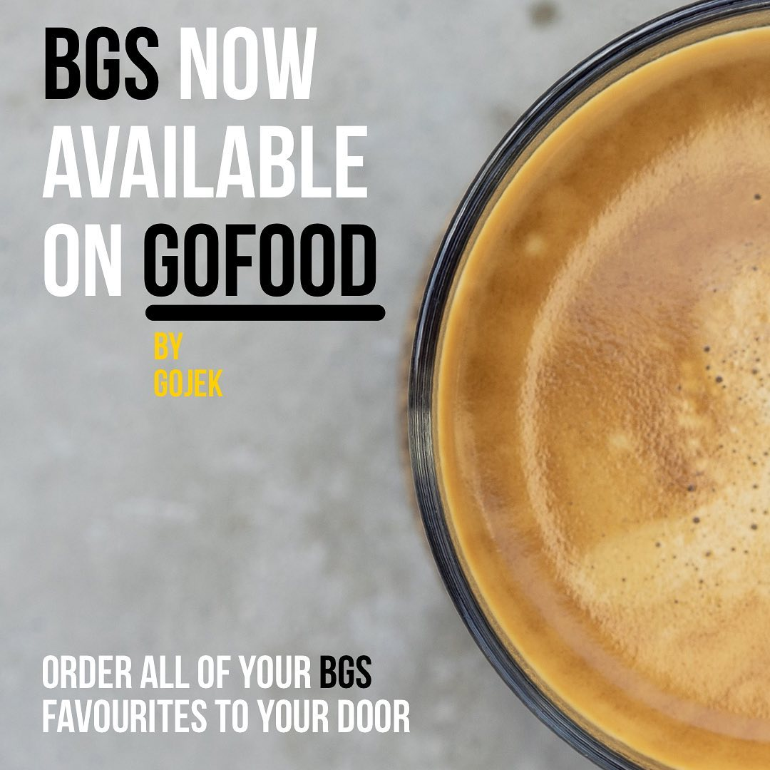 bgs coffee on gofood
