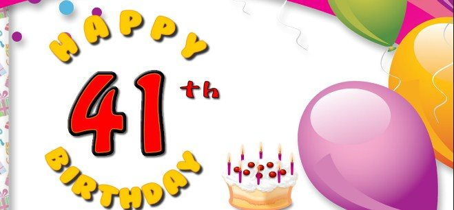 Latest 41st Birthday Wishes Happy 41th Birthday Wishes And Greetings Birthday Wishes Zone