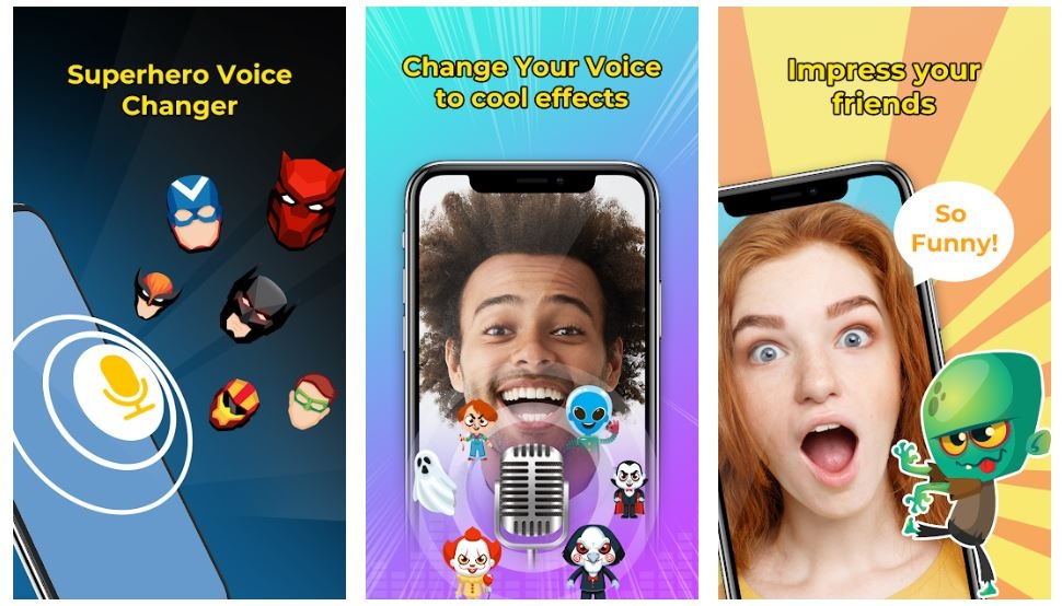 Voice changer effects apps to change voice