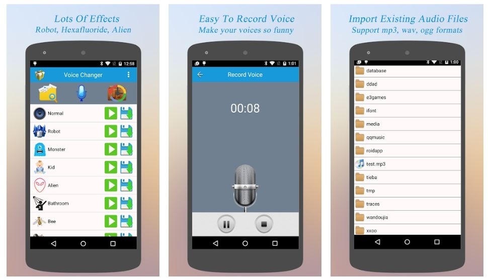 best voice changer apps to change voice