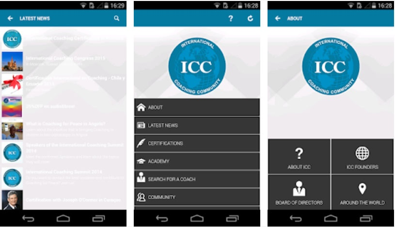 icc on the go coaching apps