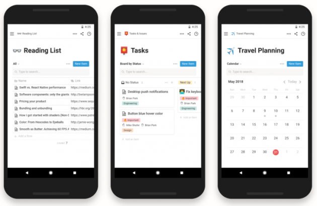 notion app android