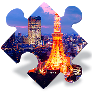 Free puzzles of cities