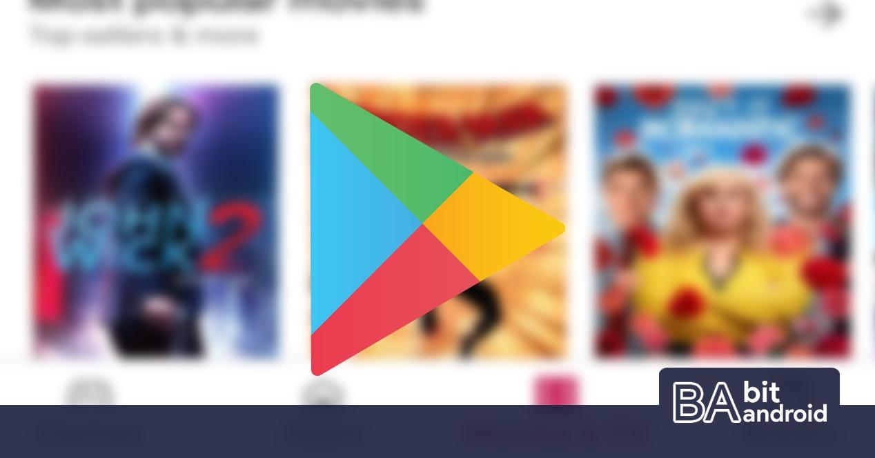 Play store new interface