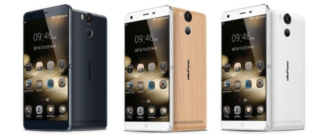 Ulefone Power phablet colors
