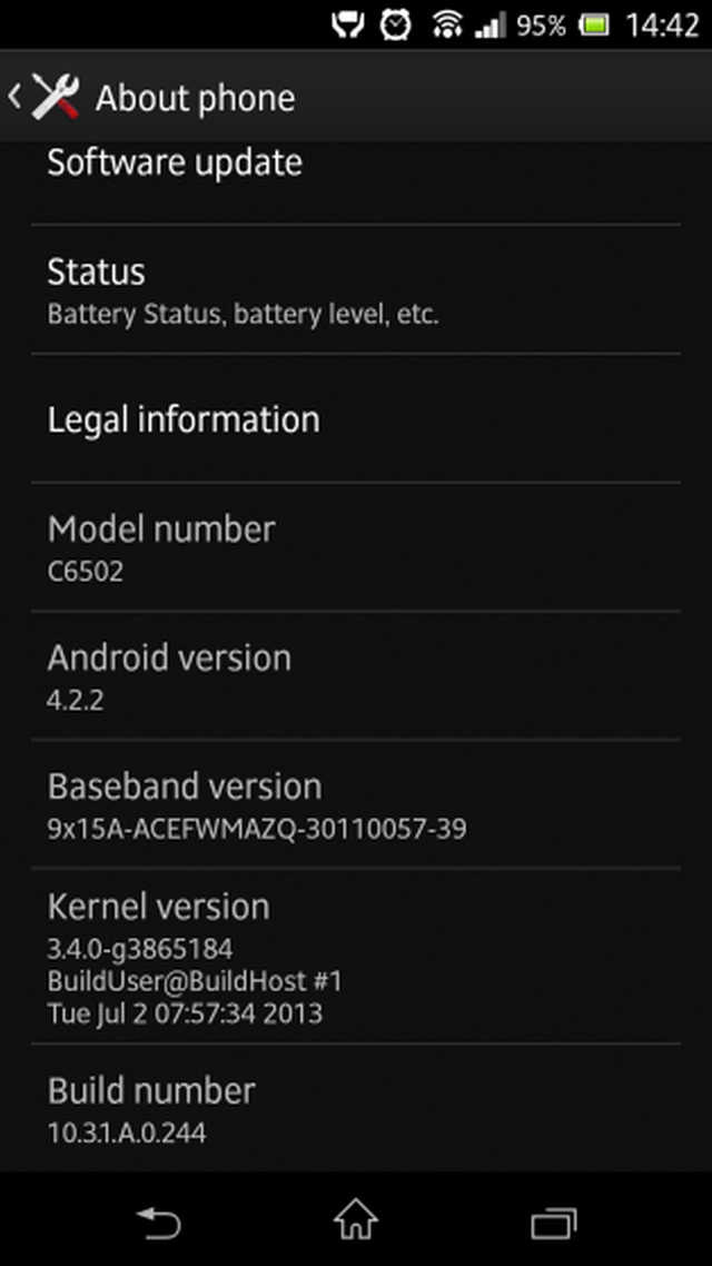 sony xperia x and sony xperia zl receive a firmware update