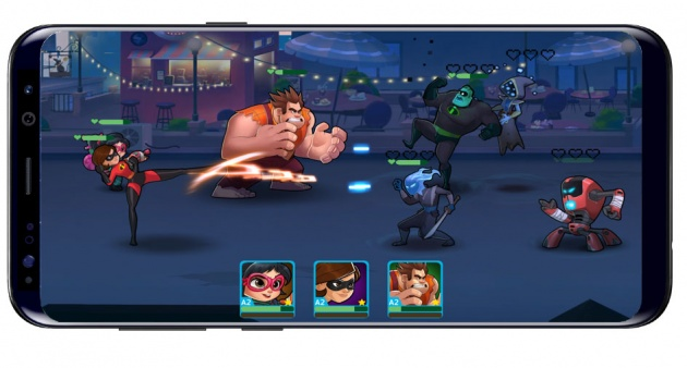 Game with Disney Heroes: Battle Mode