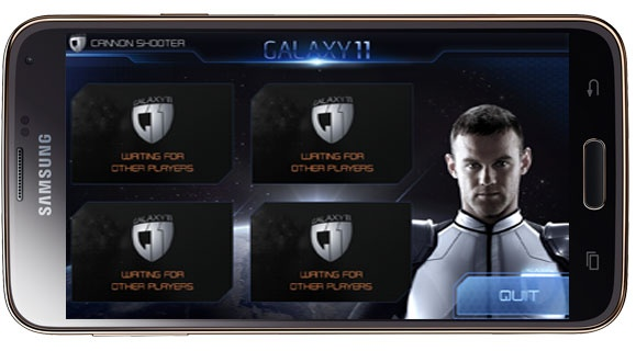 Multiplayer in Galaxy 11 Cannon Shooter