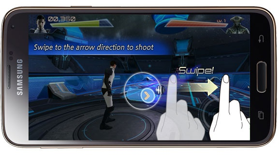 Tutorial in Galaxy 11 Cannon Shooter
