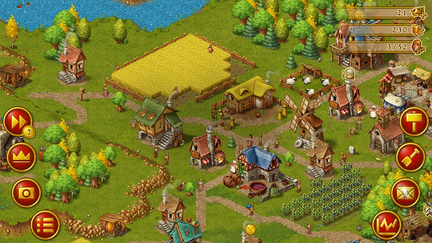 Android game Townsmen