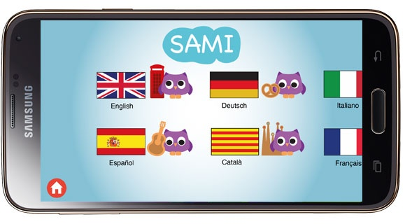 Languages in Sami Apps