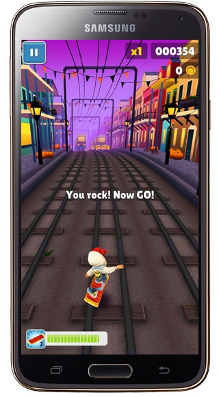 Scooter in Subway Surf