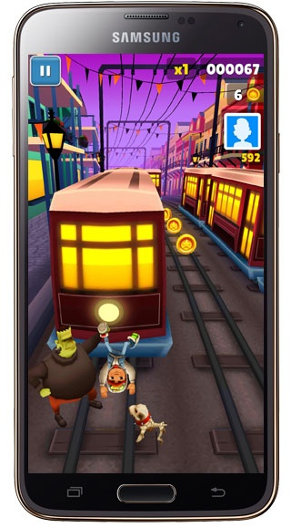 Trapped in Subway Surf