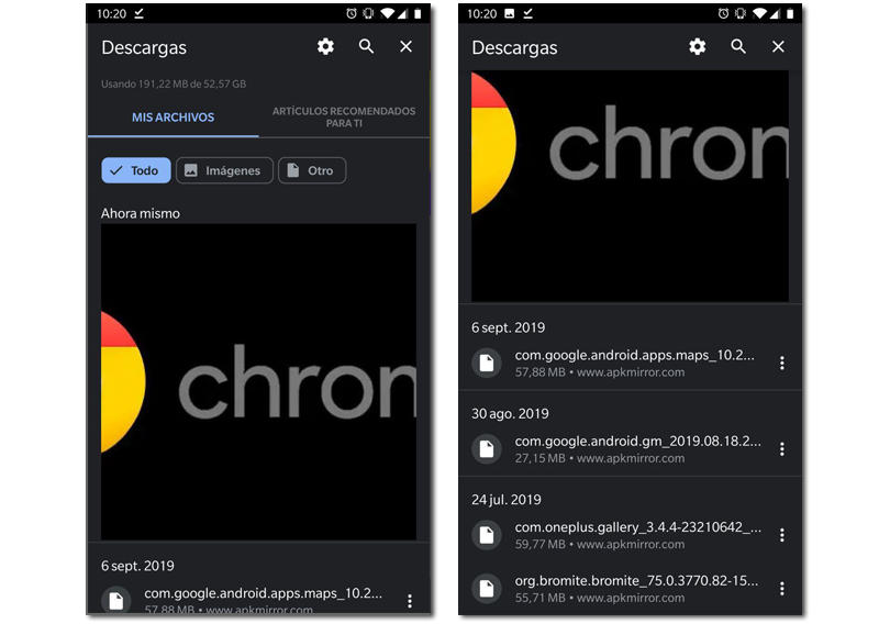 Chrome 77 download page