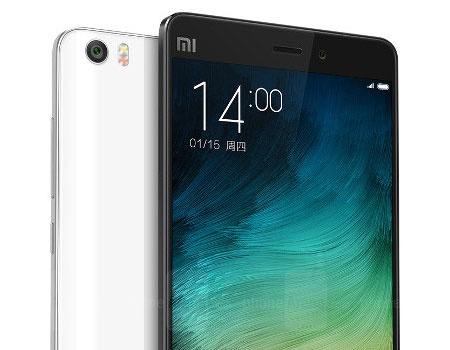 Opening image of the Xiaomi Mi Note