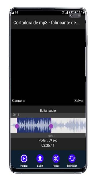 Edit file with MP3 cutter
