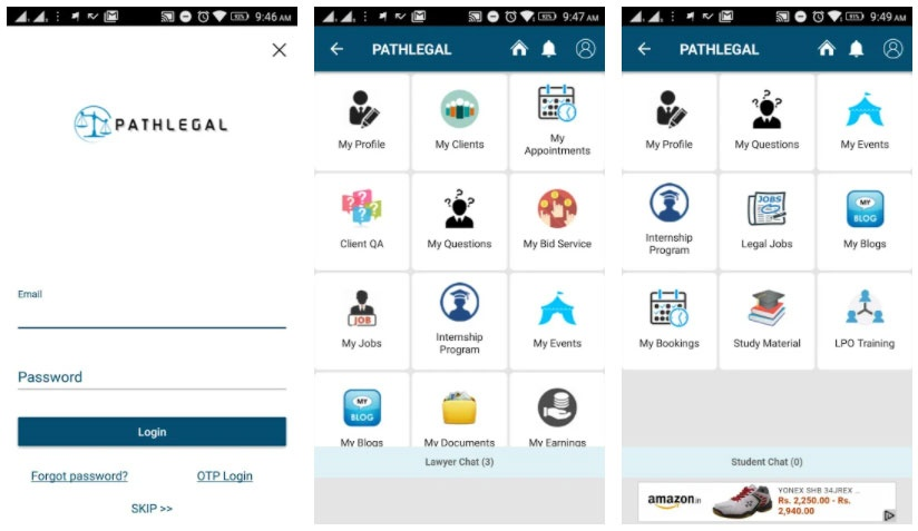 pathlegal apps for lawyers
