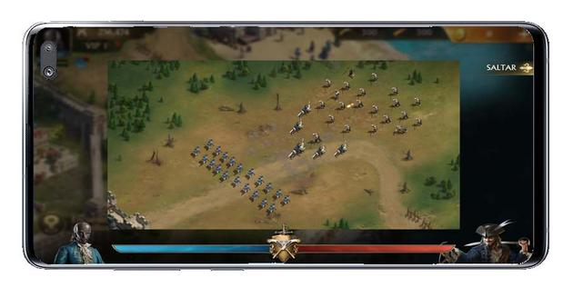 Battle in Guns of Glory: The Iron Mask