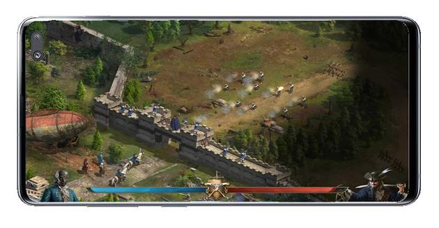 Wall defense in Guns of Glory: The Iron Mask