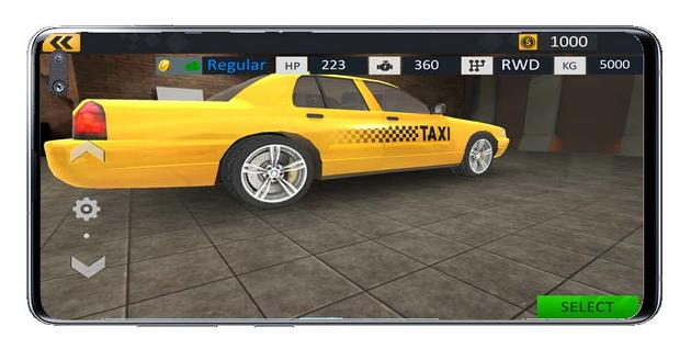 Tire change in Taxi Driver Sim