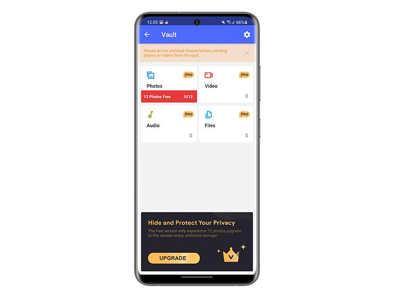 Protect your files on android