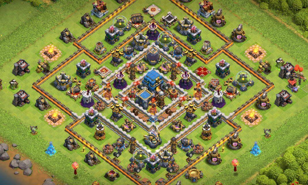 Clash of clans town hall