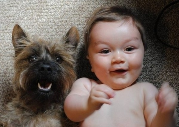 These 30 Adorable Pictures Of Babies With Puppies Will Melt Your Heart