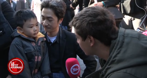 French dad explains Paris terror attacks to young son - NY