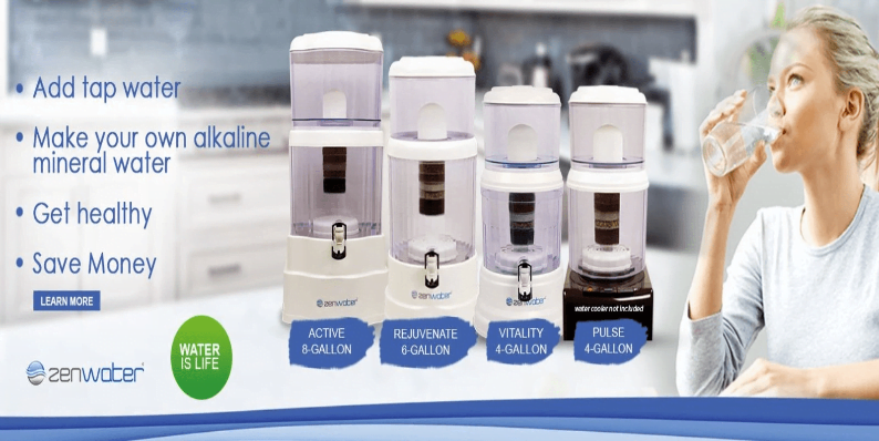 zen water system coupon promo code