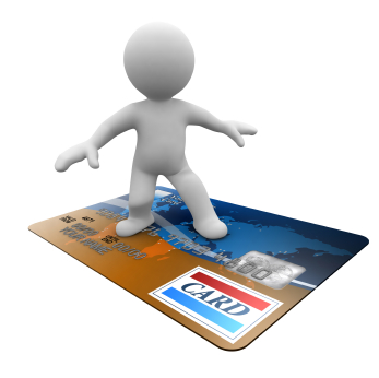 credit card flying with you