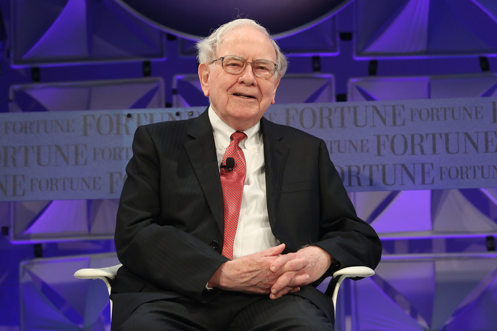 Warren Buffett. (Shutterstock)