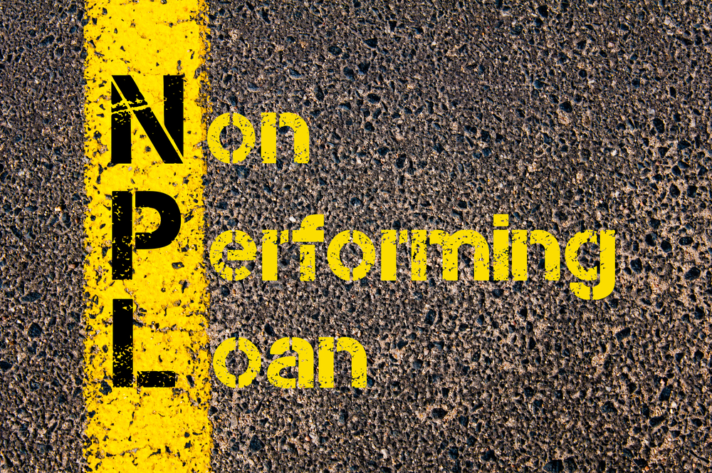 Ilustrasi non performing loan. (Shutterstock)