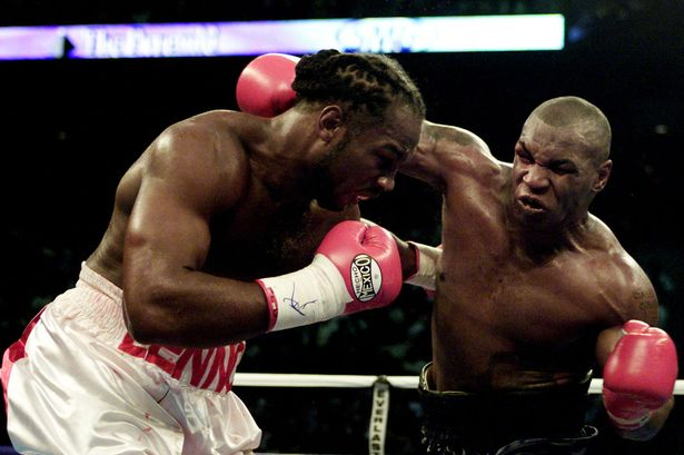 Mike Tyson vs Lennox Lewis