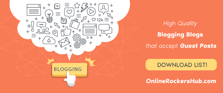 [Download] High Quality Blogging Blogs that accept guest posts