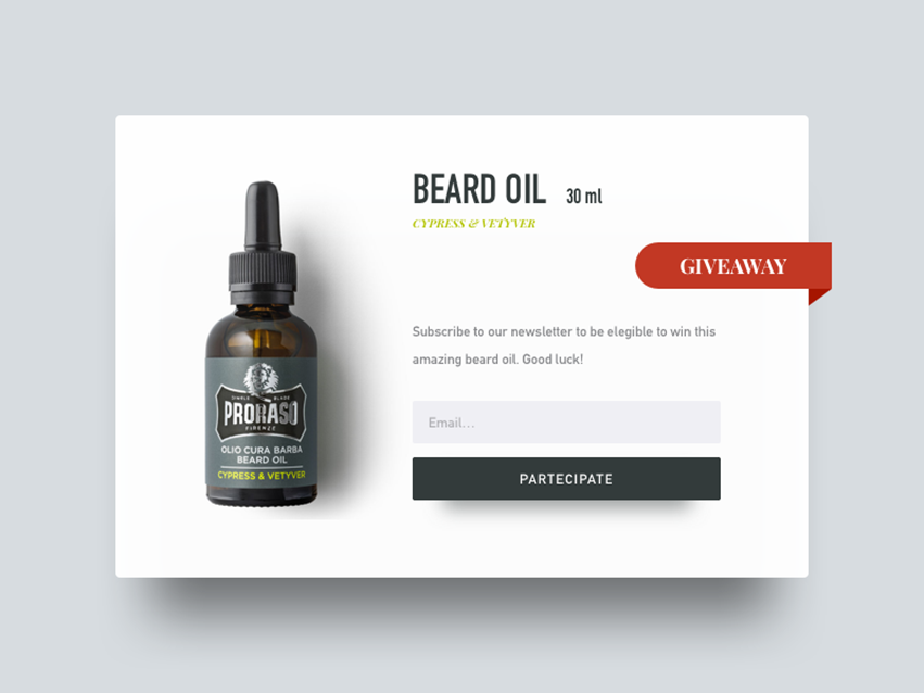 image of product popup