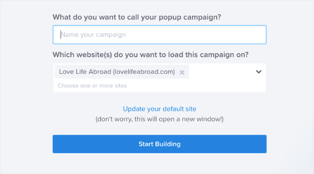 popup name