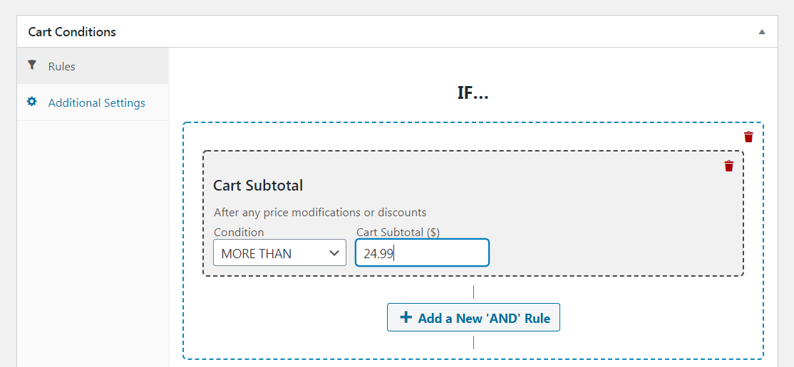 cart condition
