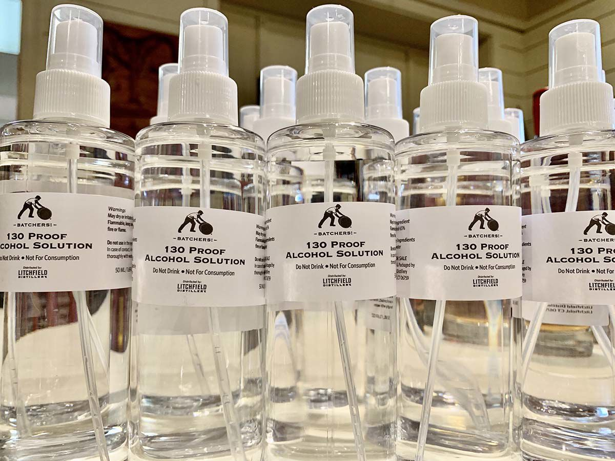 Ct Distilleries Start Producing Hand Sanitizer To Meet Coronavirus
