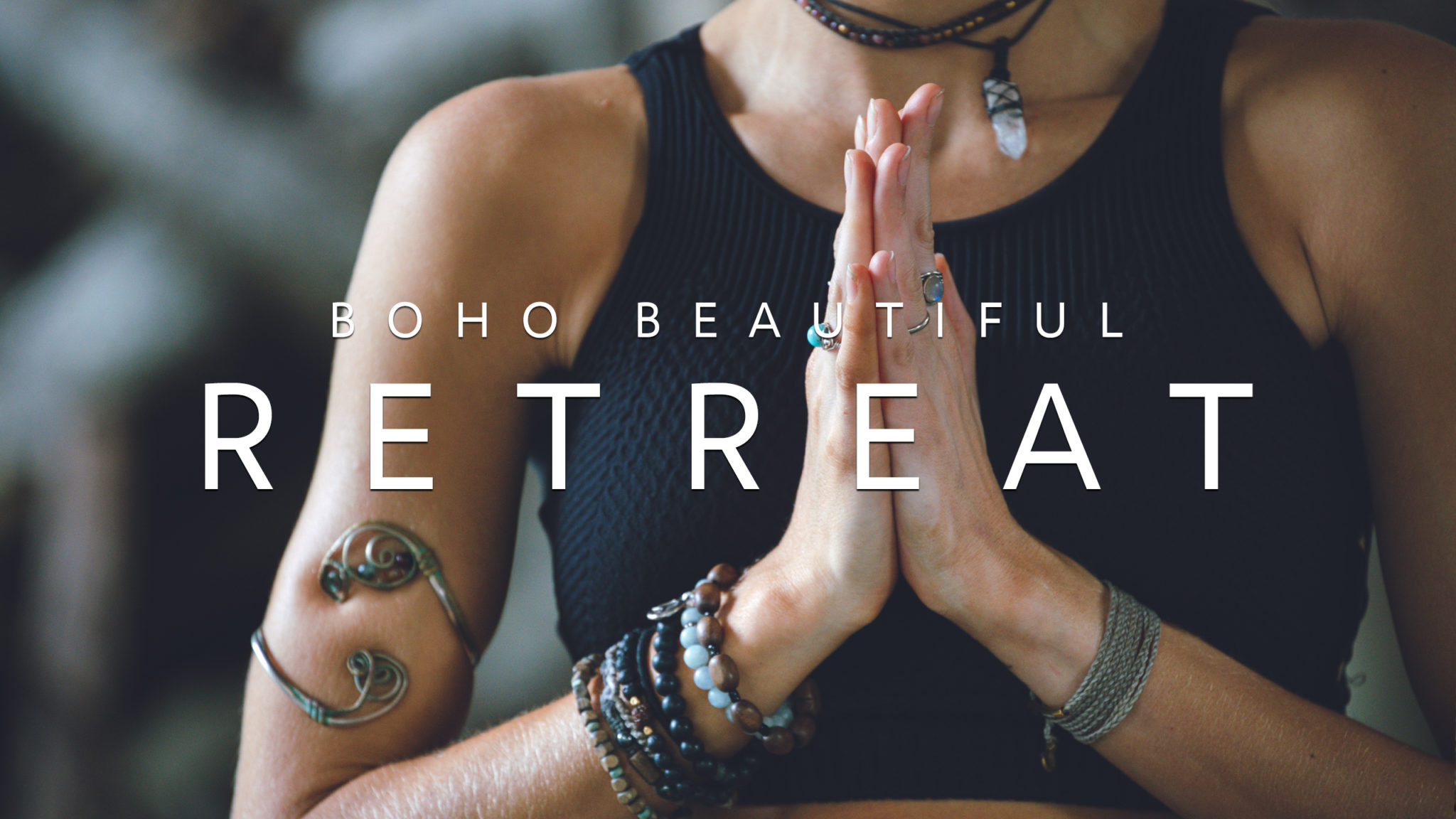 boho beautiful yoga retreat